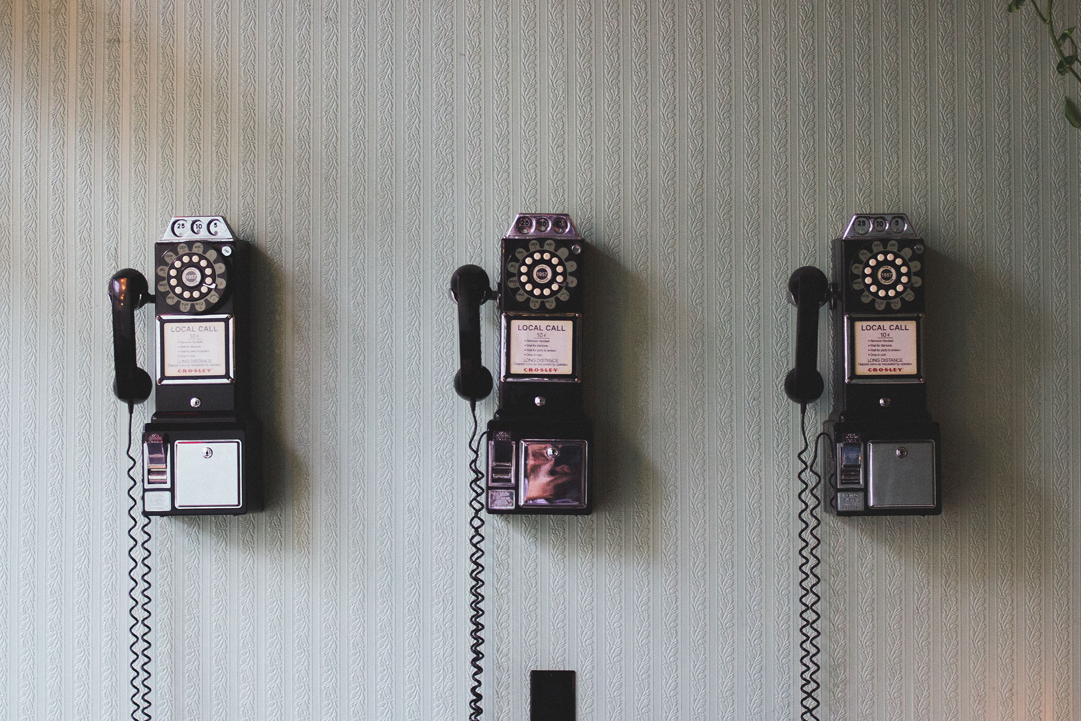 Telephones on Wall